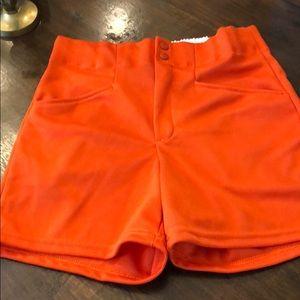 Bike mens medium orange shorts